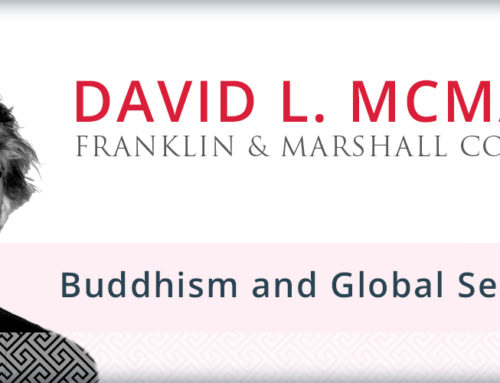 Keynote Lecture: Prof. David McMahan on Buddhism and Global Secularisms