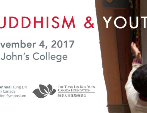 "Conference Page Posted for ""Buddhism and Youth"""