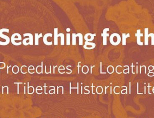 Lecture: Dr. Ben Wood on Procedures for Locating Incarnations (tulkus) in Tibetan Historical Literature