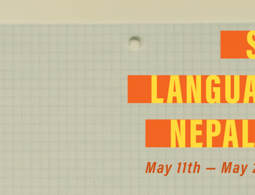 Language Learning: Nepali and Tibetan Community-Engaged Language courses