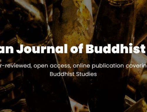 CJBS Publication: 2020 Special Issue Buddhism and Social Change