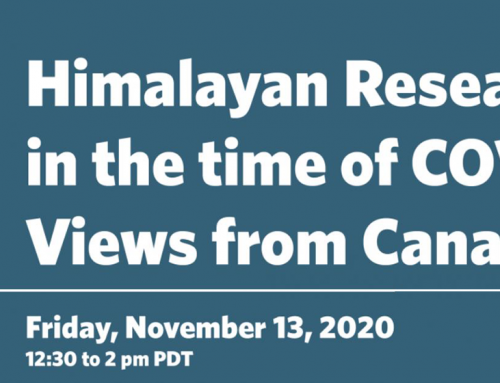 Himalayan Research in the Time of COVID-19: Views from Canada